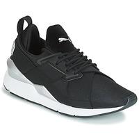 鞋子 女士 球鞋基本款 Puma 彪马 WN MUSE SATIN II.BLACK 黑色