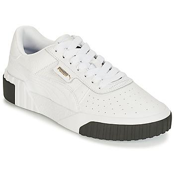鞋子 女士 球鞋基本款 Puma 彪马 CALI 白色 / 黑色