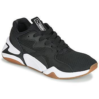 鞋子 女士 球鞋基本款 Puma 彪马 WN NOVA 90'S BLOC.BL-BL 黑色