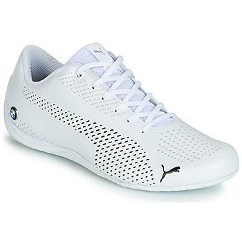 鞋子 男士 球鞋基本款 Puma 彪马 BMW DRIFT CAT 5 ULTRA.WHT 白色