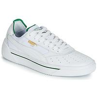 鞋子 男士 球鞋基本款 Puma 彪马 CALI.WH-AMAZON GREEN-WH 白色 / 绿色