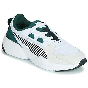 鞋子 男士 球鞋基本款 Puma 彪马 ZETA SUEDE.WHITE-PONDEROSA 白色