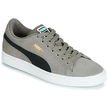 鞋子 男孩 球鞋基本款 Puma 彪马 JR SUEDE CLASSIC.CHARCO-BL 灰色