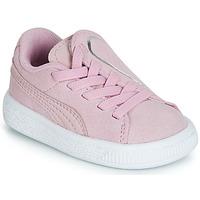 鞋子 女孩 球鞋基本款 Puma 彪马 INF SUEDE CRUSH AC.LILAC Lila