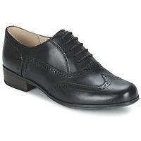 鞋子 女士 德比 Clarks 其乐 HAMBLE OAK 黑色