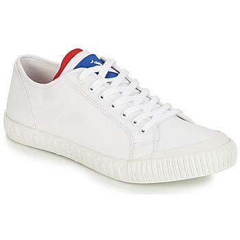 鞋子 球鞋基本款 Le Coq Sportif 樂卡克 NATIONALE 白色 / 藍色 / 紅色