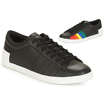 鞋子 女士 球鞋基本款 Le Coq Sportif 乐卡克 FLAG 黑色 / 多彩