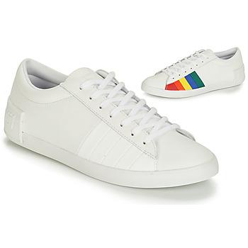 鞋子 女士 球鞋基本款 Le Coq Sportif 乐卡克 FLAG 白色 / 多彩