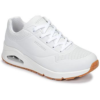 鞋子 女士 球鞋基本款 Skechers 斯凯奇 UNO 白色