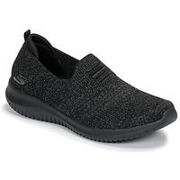 鞋子 女士 平底鞋 Skechers 斯凯奇 ULTRA FLEX 黑色