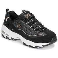 鞋子 女士 球鞋基本款 Skechers 斯凯奇 D'LITES GLAMOUR FEELS 黑色