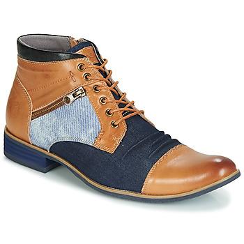 鞋子 男士 短筒靴 Kdopa ALMERIA 驼色 / 蓝色