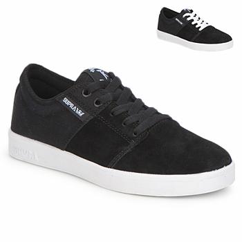 鞋子 球鞋基本款 Supra STACKS II 黑色 / 白色