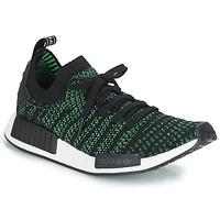 鞋子 球鞋基本款 Adidas Originals 阿迪达斯三叶草 NMD_R1 STLT PK 黑色 / 绿色