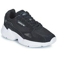鞋子 女士 球鞋基本款 Adidas Originals 阿迪达斯三叶草 FALCON W 黑色