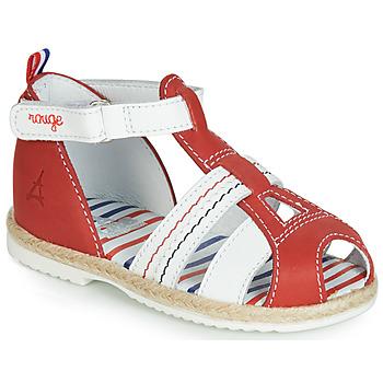 鞋子 儿童 凉鞋 GBB COCORIKOO 红色