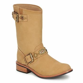 鞋子 女士 短筒靴 Miss L'Fire MCQUEEN 米色