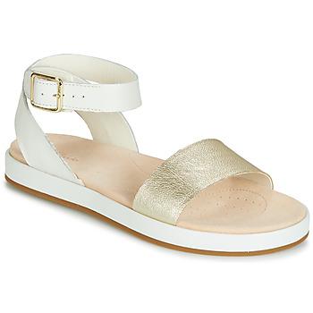 鞋子 女士 凉鞋 Clarks 其乐 BOTANIC IVY 白色