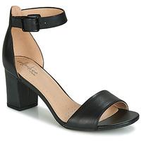 鞋子 女士 凉鞋 Clarks 其乐 DEVA MAE 黑色