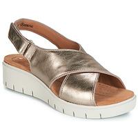 鞋子 女士 凉鞋 Clarks 其乐 UN KARELY SUN 金色