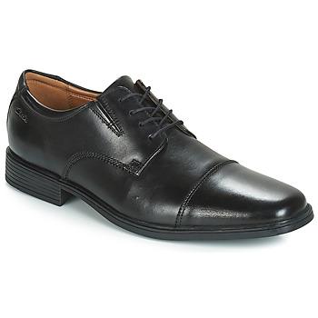 鞋子 男士 德比 Clarks 其乐 TILDEN CAP 黑色
