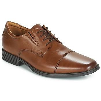 鞋子 男士 德比 Clarks 其乐 TILDEN CAP 棕色