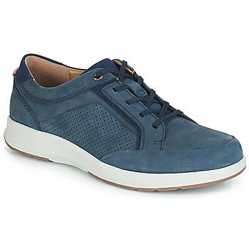 鞋子 男士 球鞋基本款 Clarks 其乐 UN TRAIL FORM 海蓝色