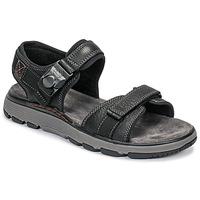 鞋子 男士 凉鞋 Clarks 其乐 UN TREK PART 黑色