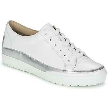 鞋子 女士 球鞋基本款 Caprice BUSCETI 白色 / 银色