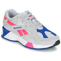 鞋子 球鞋基本款 Reebok Classic AZTREK 米色 / 蓝色