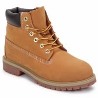 鞋子 儿童 短筒靴 Timberland 添柏岚 6 IN PREMIUM WP BOOT 棕色