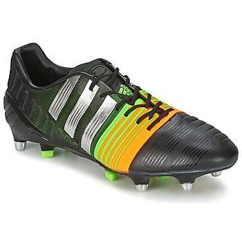 鞋子 男士 足球 adidas Performance 阿迪达斯运动训练 NITROCHARGE 1.0 SG 黑色 / 黄色