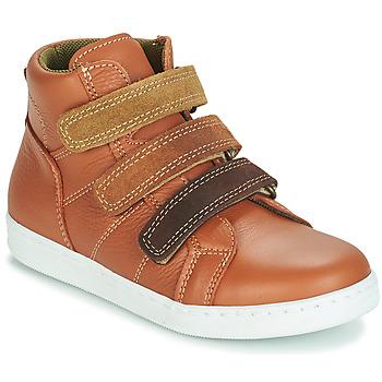 鞋子 男孩 短筒靴 André TRITON 驼色