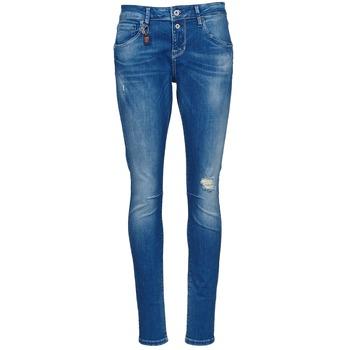 衣服 女士 紧身牛仔裤 Only LISE 蓝色