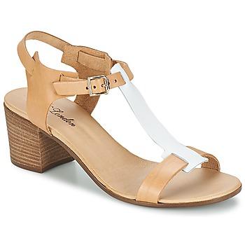 鞋子 女士 凉鞋 Betty London GANTOMI 驼色 / 白色