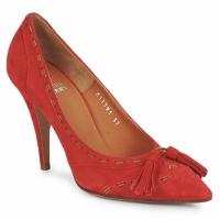 鞋子 女士 高跟鞋 Michel Perry CAMOSCIO 紅寶石色