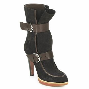 鞋子 女士 短靴 Michel Perry WILD Madras-棕色