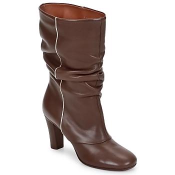 鞋子 女士 短靴 Michel Perry SAHARA 黄褐色