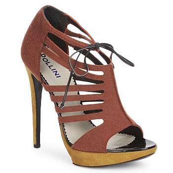 鞋子 女士 凉鞋 Pollini PA1602 FELTRO-RUGGINE