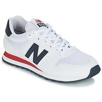 鞋子 男士 球鞋基本款 New Balance新百伦 GM500 白色