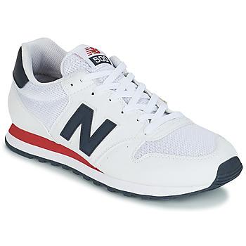 鞋子 男士 球鞋基本款 New Balance新百倫 GM500 白色