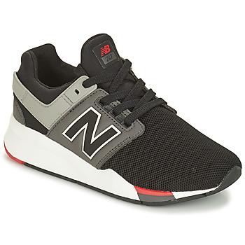 鞋子 男孩 球鞋基本款 New Balance新百伦 GS247 黑色