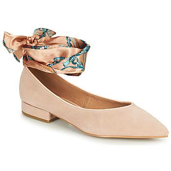 鞋子 女士 平底鞋 KARSTON KEBEC 玫瑰色