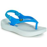 鞋子 兒童 涼鞋 Ipanema 依帕內瑪 ANATOMIC SOFT BABY 藍色 / 白色