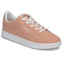 鞋子 女孩 球鞋基本款 Kappa 卡帕 TCHOURI LACE 玫瑰色 / 白色