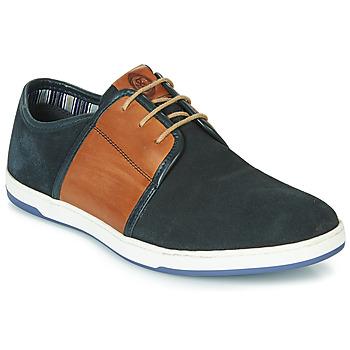 鞋子 男士 球鞋基本款 Base London JIVE 藍色 / 駝色