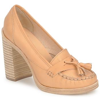 鞋子 女士 高跟鞋 Swedish hasbeens TASSEL LOAFER 米色