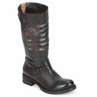鞋子 女士 短筒靴 Strategia ENRO 黑色 / 印花 / 旗