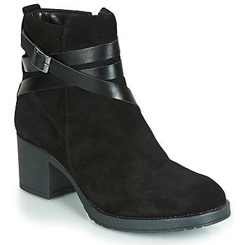 鞋子 女士 短筒靴 André MIDWEST 黑色