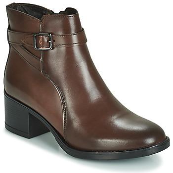 鞋子 女士 短筒靴 André CANAILLE 棕色